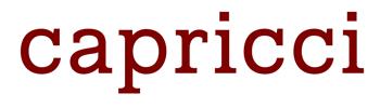 logo-capricci